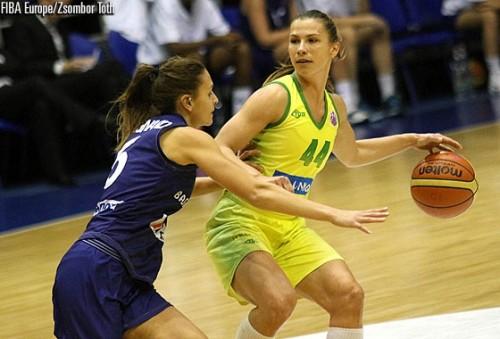 Eurocoupe_2014-2015_Iva CIGLAR (Sopron) vs. Basket Landes_FIBA Europe_Zsombor TOTH
