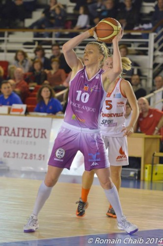 LFB_2014-2015_Lizanne MURPHY (Angers) @Mondeville_Romain CHAIB