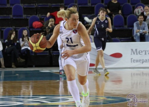 Russie_2014-2015_Maria KHRUSTALEVA (Kursk) vs. St Petersbourg_kurskbasket.ru
