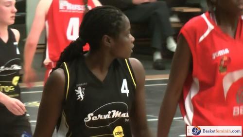 Belgique_2014-2015_Shantrell MOSS (Fleurus) vs. Monceau_basketfeminin.com