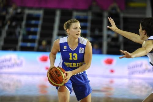 Euro 2013_Stephanie YDERSTROM (Suède)_FIBA Europe_Hervé BELLENGER