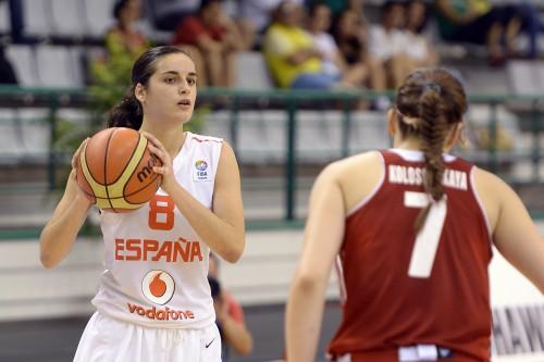 Euro U18 2014_Angela SALVADORES (Espagne)_FIBA Europe