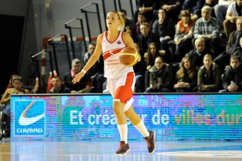 Eurocoupe_2014-2015_Virginie BREMONT (Villeneuve) vs. Namur_Emmanuel ROUSSEL