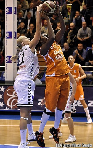 Isabelle yacoubou FIBA europe