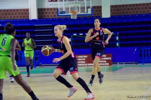 LFB_2014-2015_Antonija MISURA (Toulouse) vs. Hainaut Basket_Thibaut LASSER