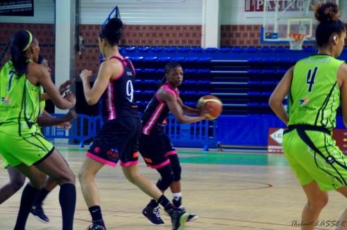 LFB_2014-2015_Olivia EPOUPA 2 (Toulouse) vs. Hainaut Basket_Thibaut LASSER