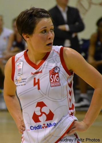 Ligue 2 1415 - Céline PFISTER (SIG) - Audrey Feltz