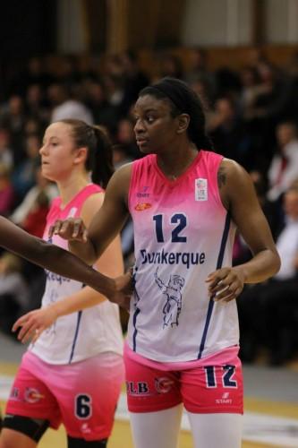 Ligue 2 1415 - Keisha Hampton (Dunkerque) - Fred Caupain