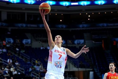 Mondial 2014_Alba TORRENS (Espagne) vs. Chine_FIBA