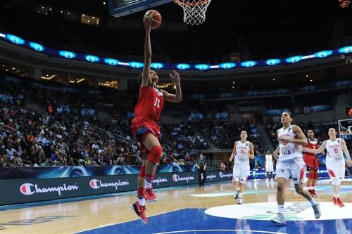 Mondial 2014_Candice DUPREE (Etats-Unis) vs. Espagne_FIBA
