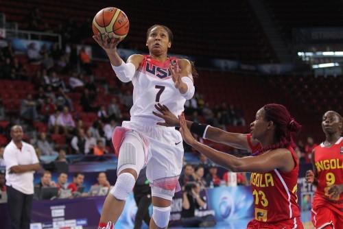 Mondial 2014_Maya MOORE (Etats-Unis) vs. Angola_FIBA