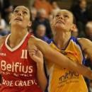 Belgique : Enceinte, Erin LAWLESS quitte Namur