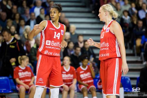 Eurocoupe_2014-2015_Brianna BUTLER & Inga OREKHOVA (Namur)_Sport Emotions Photographie
