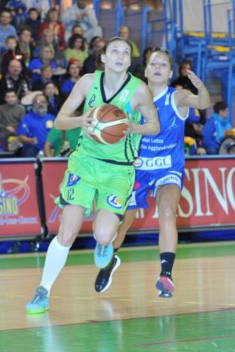 LFB_2014-2015_Katerina ZOHNOVA (Hainaut Basket)_ vs. Montpellier_Daniel LEMOINE
