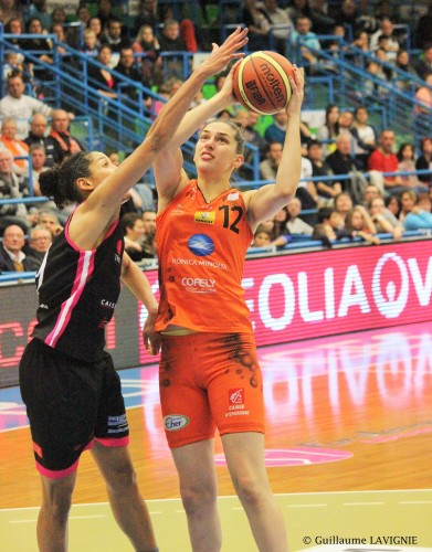 LFB_2014-2015_Marianna TOLO (Bourges) vs. Toulouse_Guillaume LAVIGNIE