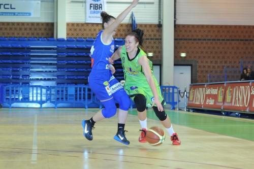 LFB_2014-2015_Shona THORBURN (Hainaut Basket) vs. Montpellier_Daniel LEMOINE