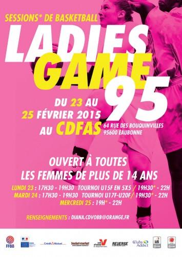 Ladies Game 95 2015
