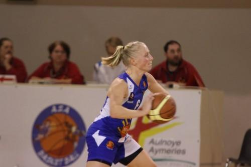 Ligue 2 1415 - Cindy NOWACKI (Aulnoye) - Fred CAUPAIN
