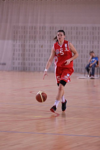 Ligue 2 1415 - Marie Eve Paget (Nice) - Fred Caupain