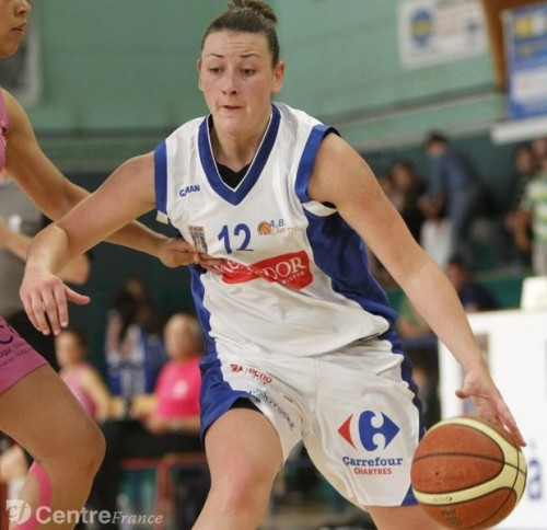 Ligue 2 1415 - Noemie LEMAIRE ( Chartres) - JL - Centre France