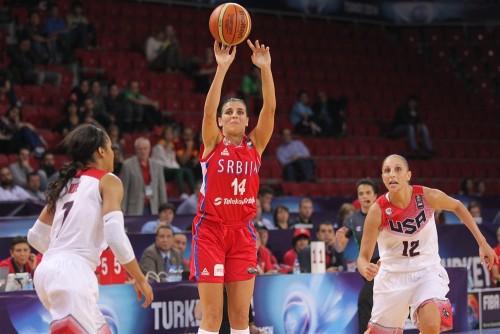Mondial 2014_Ana DABOVIC (Serbie) vs. Etats-Unis_FIBA