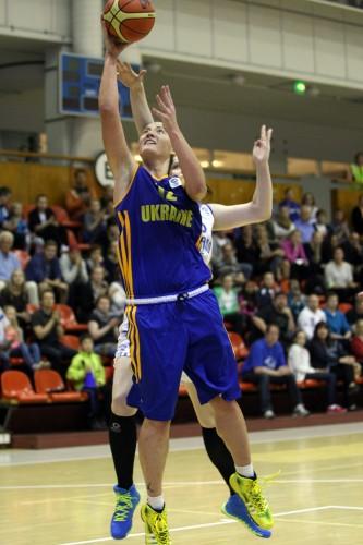Qualifs Euro 2015_Olesya MALASHENKO (Ukraine)_FIBA Europe_Francois PERTHUIS