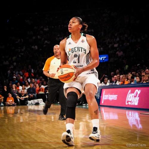 WNBA_2014_Alexandria MONTGOMERY (New York)_KeezCam
