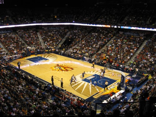 WNBA_Mohegan Sun Arena_stadiumandarenavisits.com