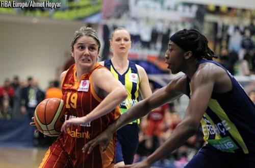 Jelena DUBLJEVIC FIBA Europe Ahmet HOPYAR