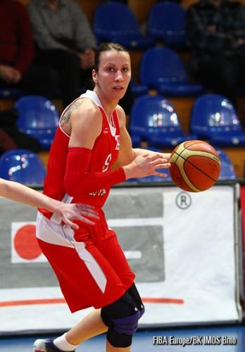 Stella KALTSIDOU FIBA Europe BK Imos Brno