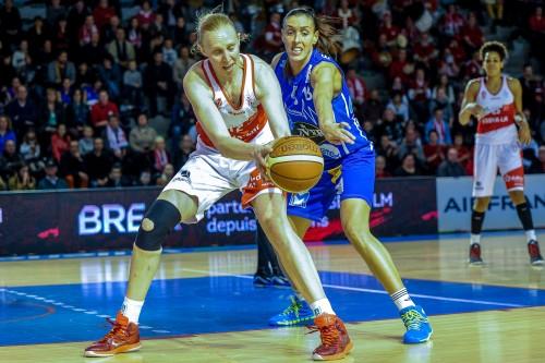 LFB_2014-2015_Ann WAUTERS (Villeneuve) vs. Basket Landes_Emmanuel ROUSSEL