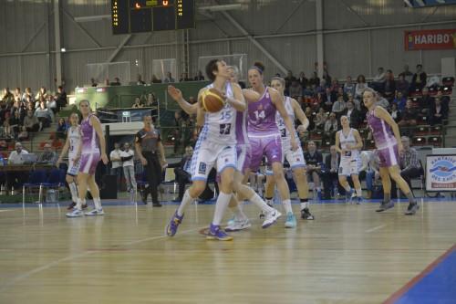 LFB_2014-2015_Emilija PODRUG (Nantes-Rezé) vs. Angers_Laury MAHE