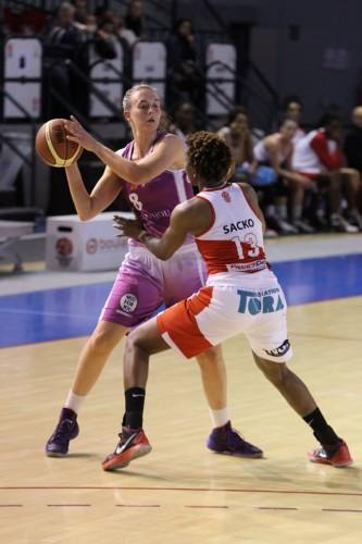 LFB_2014-2015_Jessica CLEMENCON (Angers) vs. Villeneuve d'Ascq_Frédéric CAUPAIN