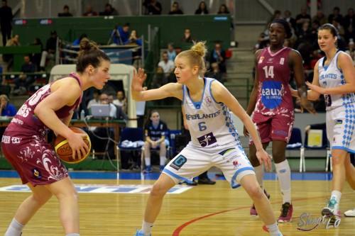 LFB_2014-2015_Maggie LUCAS (Arras) vs. Nantes-Rezé_Laury MAHE