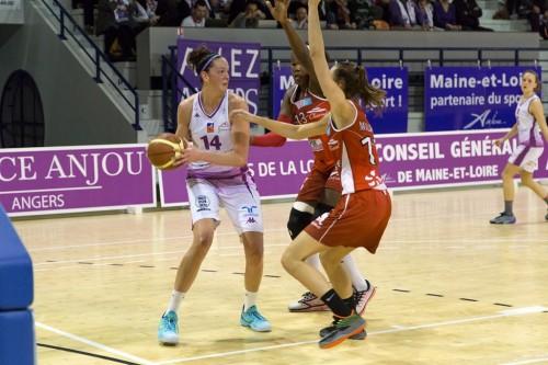 LFB_2014-2015_Rebecca TOBIN (Angers) vs. Mondeville_ufab49.com