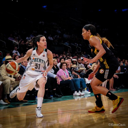 WNBA_2014_Anna CRUZ (New York) vs. Tulsa_KeezCam