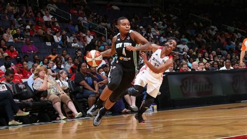 WNBA_2014_Natasha LACY (New York)_NBAE_Getty Images
