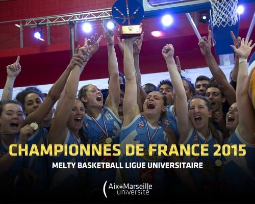 Aix-Marseille champion universitaire 2014-2015_Section Aix-Marseille Universitaire