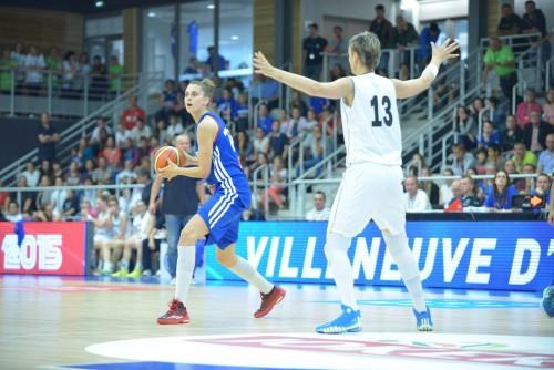 Ana CATA-CHITIGA (France) vs. Slovaquie_FFBB