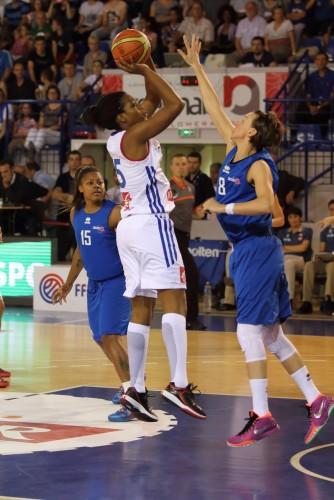 Endéné MIYEM (France) vs. Grande-Bretagne_Olivier BLATRIE