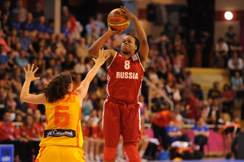 Euro 2013_Epiphanny PRINCE (Russie)_FIBA Europe_Elio CASTORIA