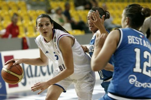 Euro U20 2009_Sonja PETROVIC (Serbie)_FIBA Europe_Wojciech FIGURSKI