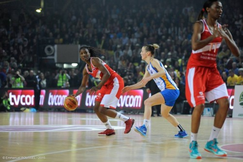Eurocoupe_2014-2015_Laëtitia KAMBA (Villeneuve) vs. Braine_Emmanuel ROUSSEL