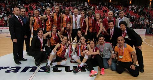 Galatasaray champion 2015 TBF