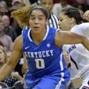 WNBA : Jennifer O'NEILL au camp d'entrainement de Minnesota