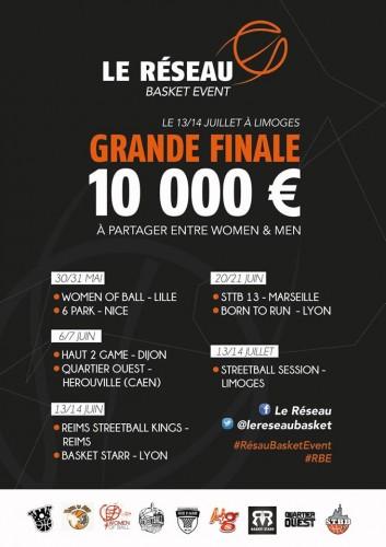 Le Réseau Basket Event 2015