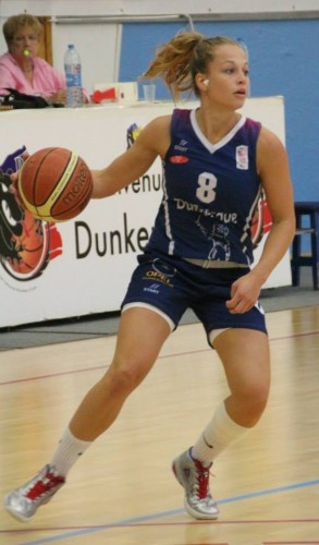 Ligue 2_2014-2015_Lisa BACCONNIER (Dunkerque)_Cyrille COULONT