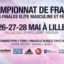 Les phases finales universitaires élite à Lille du 26 au 28 mai !