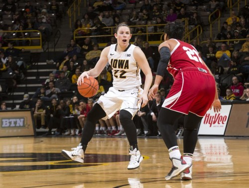 Samantha LOGIC (Iowa)_Iowa Women's Basketball