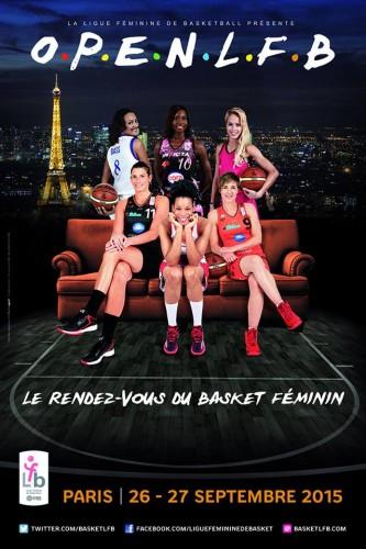Affiche Open LFB 2015